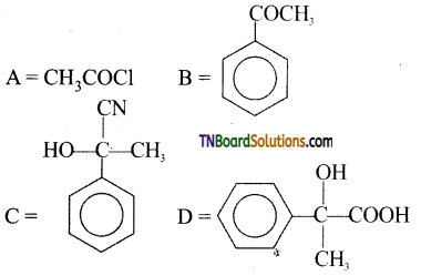 TN Board 12th Chemistry Important Questions Chapter 12 Carbonyl Compounds and Carboxylic Acids 206