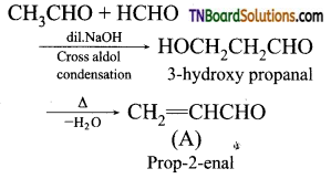 TN Board 12th Chemistry Important Questions Chapter 12 Carbonyl Compounds and Carboxylic Acids 215