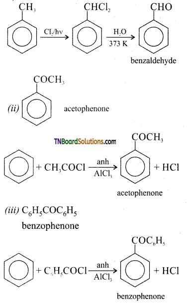 TN Board 12th Chemistry Important Questions Chapter 12 Carbonyl Compounds and Carboxylic Acids 29