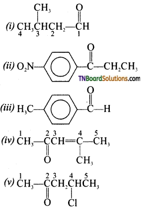 TN Board 12th Chemistry Important Questions Chapter 12 Carbonyl Compounds and Carboxylic Acids 4