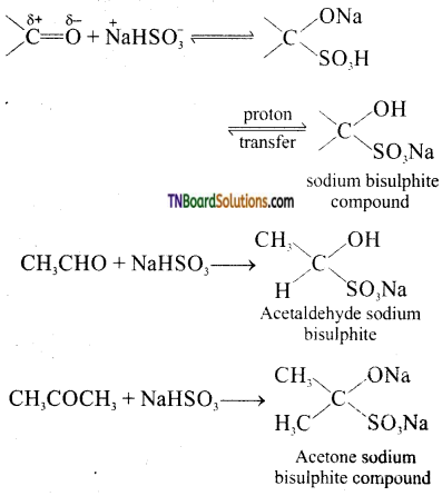 TN Board 12th Chemistry Important Questions Chapter 12 Carbonyl Compounds and Carboxylic Acids 48