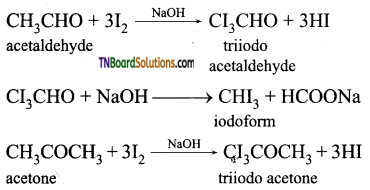 TN Board 12th Chemistry Important Questions Chapter 12 Carbonyl Compounds and Carboxylic Acids 56