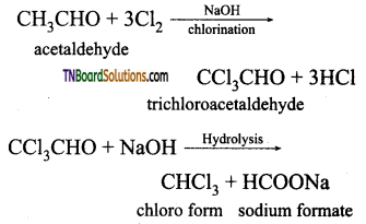 TN Board 12th Chemistry Important Questions Chapter 12 Carbonyl Compounds and Carboxylic Acids 58
