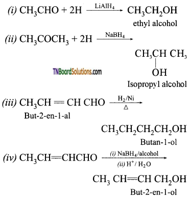 TN Board 12th Chemistry Important Questions Chapter 12 Carbonyl Compounds and Carboxylic Acids 77
