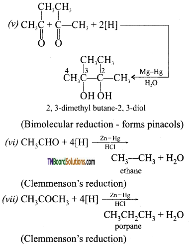 TN Board 12th Chemistry Important Questions Chapter 12 Carbonyl Compounds and Carboxylic Acids 78