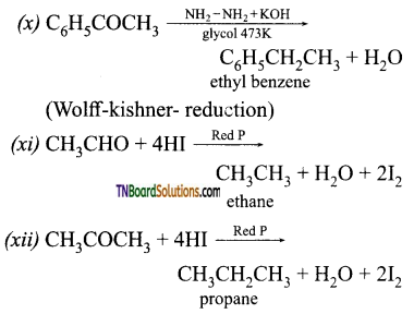TN Board 12th Chemistry Important Questions Chapter 12 Carbonyl Compounds and Carboxylic Acids 80