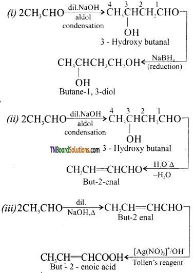 TN Board 12th Chemistry Important Questions Chapter 12 Carbonyl Compounds and Carboxylic Acids 81