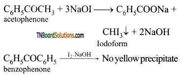 TN Board 12th Chemistry Important Questions Chapter 12 Carbonyl Compounds and Carboxylic Acids 82