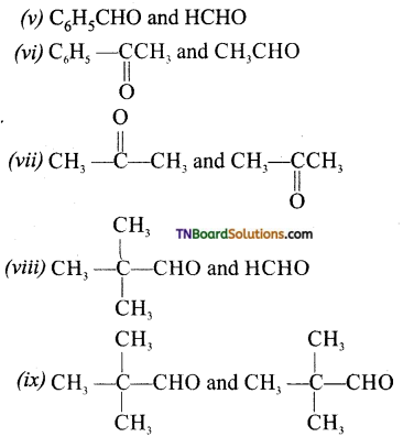 TN Board 12th Chemistry Important Questions Chapter 12 Carbonyl Compounds and Carboxylic Acids 9