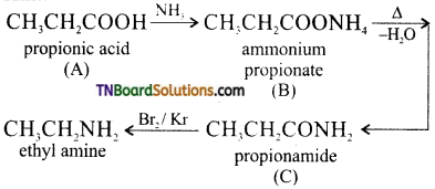 TN Board 12th Chemistry Important Questions Chapter 13 Organic Nitrogen Compounds 107