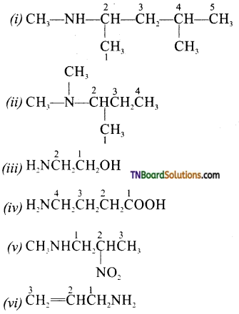 TN Board 12th Chemistry Important Questions Chapter 13 Organic Nitrogen Compounds 37
