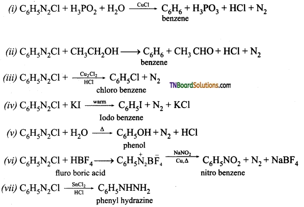 TN Board 12th Chemistry Important Questions Chapter 13 Organic Nitrogen Compounds 66