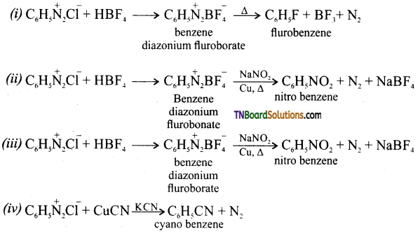 TN Board 12th Chemistry Important Questions Chapter 13 Organic Nitrogen Compounds 69