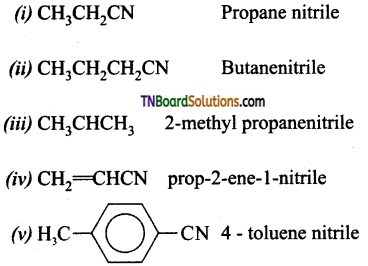TN Board 12th Chemistry Important Questions Chapter 13 Organic Nitrogen Compounds 79
