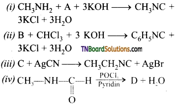 TN Board 12th Chemistry Important Questions Chapter 13 Organic Nitrogen Compounds 86