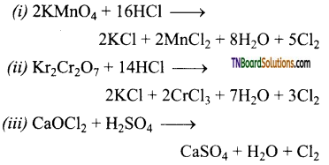 TN Board 12th Chemistry Important Questions Chapter 3 p-Block Elements – II 106