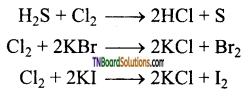 TN Board 12th Chemistry Important Questions Chapter 3 p-Block Elements – II 113