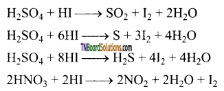 TN Board 12th Chemistry Important Questions Chapter 3 p-Block Elements – II 134