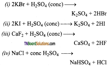 TN Board 12th Chemistry Important Questions Chapter 3 p-Block Elements – II 156