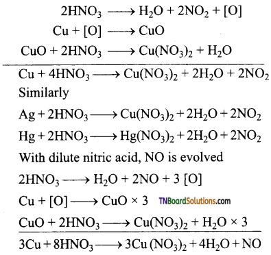 TN Board 12th Chemistry Important Questions Chapter 3 p-Block Elements – II 27