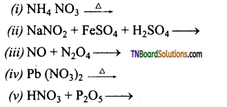 TN Board 12th Chemistry Important Questions Chapter 3 p-Block Elements – II 28