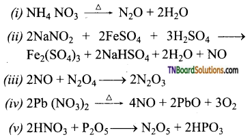 TN Board 12th Chemistry Important Questions Chapter 3 p-Block Elements – II 29