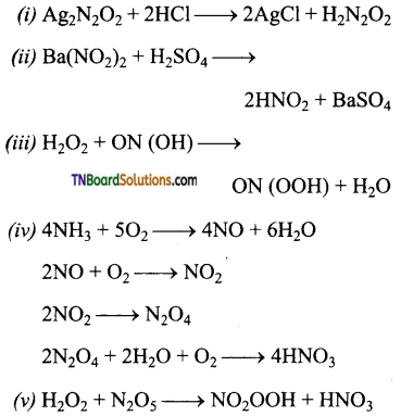 TN Board 12th Chemistry Important Questions Chapter 3 p-Block Elements – II 32