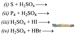 TN Board 12th Chemistry Important Questions Chapter 3 p-Block Elements – II 91