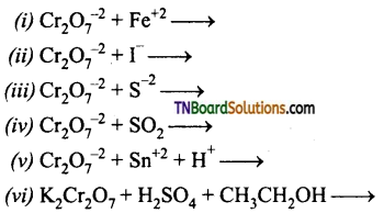 TN Board 12th Chemistry Important Questions Chapter 4 Transition and Inner Transition Elements 25