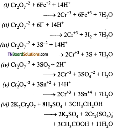 TN Board 12th Chemistry Important Questions Chapter 4 Transition and Inner Transition Elements 26