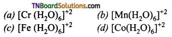 TN Board 12th Chemistry Important Questions Chapter 5 Coordination Chemistry 109