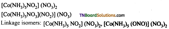 TN Board 12th Chemistry Important Questions Chapter 5 Coordination Chemistry 13