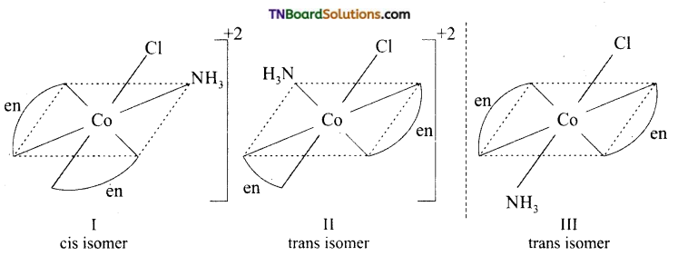 TN Board 12th Chemistry Important Questions Chapter 5 Coordination Chemistry 19