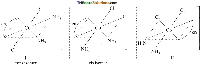 TN Board 12th Chemistry Important Questions Chapter 5 Coordination Chemistry 20