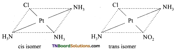 TN Board 12th Chemistry Important Questions Chapter 5 Coordination Chemistry 27