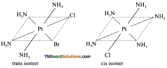 TN Board 12th Chemistry Important Questions Chapter 5 Coordination Chemistry 28