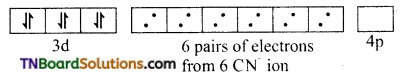 TN Board 12th Chemistry Important Questions Chapter 5 Coordination Chemistry 37