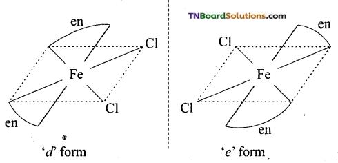 TN Board 12th Chemistry Important Questions Chapter 5 Coordination Chemistry 70