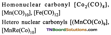 TN Board 12th Chemistry Important Questions Chapter 5 Coordination Chemistry 91