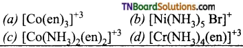 TN Board 12th Chemistry Important Questions Chapter 5 Coordination Chemistry 98