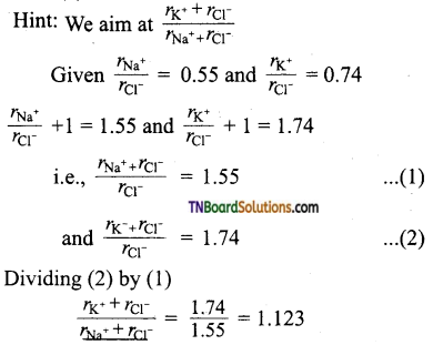 TN Board 12th Chemistry Important Questions Chapter 6 Solid State 36