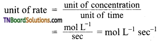 TN Board 12th Chemistry Important Questions Chapter 7 Chemical Kinetics 1