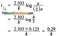 TN Board 12th Chemistry Important Questions Chapter 7 Chemical Kinetics 103