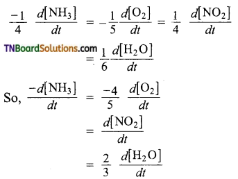 TN Board 12th Chemistry Important Questions Chapter 7 Chemical Kinetics 14