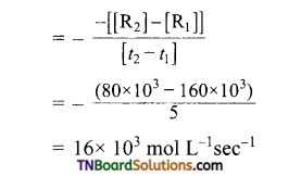 TN Board 12th Chemistry Important Questions Chapter 7 Chemical Kinetics 16