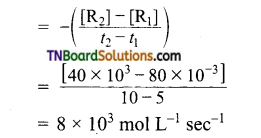 TN Board 12th Chemistry Important Questions Chapter 7 Chemical Kinetics 17