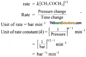 TN Board 12th Chemistry Important Questions Chapter 7 Chemical Kinetics 22