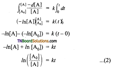TN Board 12th Chemistry Important Questions Chapter 7 Chemical Kinetics 33