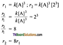 TN Board 12th Chemistry Important Questions Chapter 7 Chemical Kinetics 61