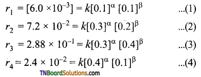 TN Board 12th Chemistry Important Questions Chapter 7 Chemical Kinetics 68